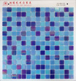 Color de cristal del azul del mosaico del iridio