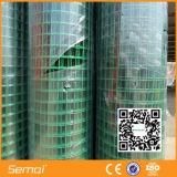 Venda quente soldada revestida PVC do engranzamento de fio do ISO 9001