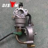 Pièces de rechange de générateur de carburateur de la Chine 168f LPG de bison, conversion de gaz