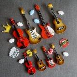 Magneti del frigorifero di figura della chitarra (GU-870)