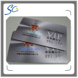 Full Color Business VIP Printing Gift Placa de adesão de PVC Plastic