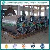 Molde de cilindro de acero inoxidable de la parte de fabricación de papel