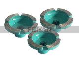 Het Flexibele Stootkussen Polishng van de hoogste Kwaliteit voor Graniet en Marmer