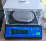 O balanço do laboratório de Digitas com frame exterior protege 500g/0.01g