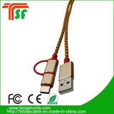 Mfi Hersteller 3in1 Universal-USB-Verbinder-Kabel für alle Telefone