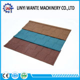 Materiales para techos de hojas de zinc metálico recubierto de piedra de Shingle Teja