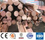 C10100 cuivre barre ronde (plat) pour usage industriel