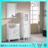 Parti superiori bianche personalizzate di vanità di colore di alta qualità per la stanza da bagno