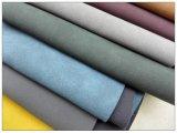 Couro artificial geado do falso de Yangbuck para sapatas, sacos, mobília, decoração (HS-Y79)