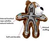 Медведь плюша пискливый для игрушки любимчика собаки прочной