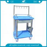 Carro aprovado do trole do hospital do instrumento médico do Ce do ISO AG-It003A3 para a venda
