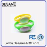 braccialetto del silicone di 125kHz RFID per il sistema di controllo di accesso (S-WB3D)
