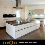 Mobilia di vetro Tivo-096VW della casa della camera da letto dell'armadio del portello scorrevole di disegno della cucina dell'isola