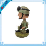 Exército Soldider Bobble Head Bobble Head a coleta do Exército