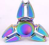 2017 giocattoli superiori della mano del metallo del filatore di irrequietezza del Rainbow del filatore della barretta della lega