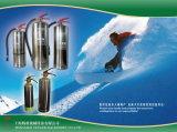 2 kg de pó ABC/2L Watrer/ 2L Extinguisher-Stainless Incêndio Afff cilindro de aço