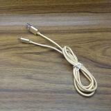 1m/2m/3m Nylon-umsponnenes Mikro USB-Daten-Synchronisierungs-Aufladeeinheits-Kabel