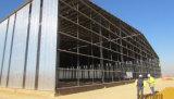 Покрашенное здание рамки стальной структуры