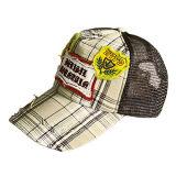 黒い印刷のロゴのトラック運転手の帽子(JRT075)