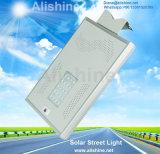 20wattsマイクロウェーブセンサーオールインワン統合されたLEDの太陽街灯