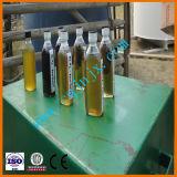 Distillazione residua nera dell'olio di motore per illuminare la pianta diesel della benzina