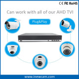 2017 16CH 720p kabeltelevisie DVR Video Recorder van Tvi/Ahd 960h