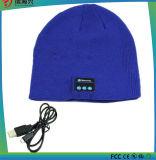 receptor de cabeza sin hilos del auricular del bluetooth del sombrero de la gorrita tejida del bluetooth