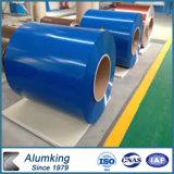 Bobina d'acciaio ricoperta lega preverniciata della lamiera di acciaio dello Alluminio-Zinco
