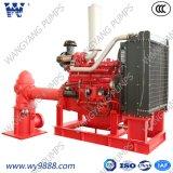 ISO9001 de standaard Verpakte Pomp van de Brand van de Schacht van de Dieselmotor Lange diep goed