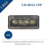 4 인치 LED 농업 기업 빛 12W 크리 사람 트랙터 램프