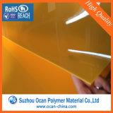 透過青いEmbossy PVC堅いシート、真空の形成のための薄く明確な反反射堅いPVCシート