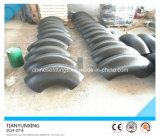 ASTM construyó el codo de las instalaciones de tuberías del acero de carbón de la soldadura A234wpb
