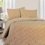 Conjunto gris bien escogido de la hoja del lecho del color del hogar del satén de algodón egipcio del 100%