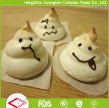 Non-Stick reutilizable de papel de vapor para cocinar Bun
