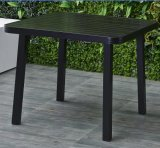 テラスの家具は4つSeaterおよび夕食庭のHotalの屋上のための正方形表セットをセットした