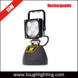 Indicatori luminosi ricaricabili portatili luminosi eccellenti del lavoro dell'istantaneo di 15W LED con la parte inferiore magnetica