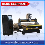 Il CNC 1325 di Ele lavora il router alla macchina di legno, macchina del router di CNC di 4X8 FT per incisione del legno