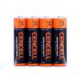 Batterie des Superenergien-Zink-Kohlenstoff-R6/AA