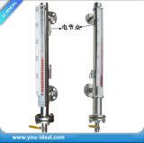 Magnetisches Papier-Bi-Becken-waagerecht ausgerichtetes Anzeigeinstrument mit Schalter-Farben-Wasserspiegel-Messinstrument
