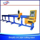 Cnc-Plasma/Flamme-Ausschnitt-Maschine für Kohlenstoff/nahtloses Stahlrohr