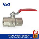 セリウムおよびAcsの鋼鉄ハンドルの真鍮の球弁(VG-A11011)