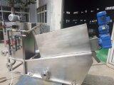 Separador líquido contínuo, imprensa de filtro da lama