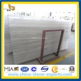 Serpeggiante, Athens Grey, Chenille White Wood Grain Marble Slabs