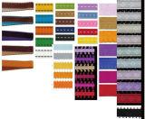 Художественное оформление одежды двух цветной лентой и плетеных ленты - сшить ленту
