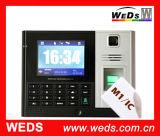 Tiempo de asistencia biométrico de huellas digitales con sistema de control de acceso