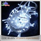 防水PVCワイヤークリスマスの装飾5mm LEDストリングライト