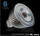 riflettore di 3W E27/GU5.3/GU10 LED, lampada, Lighting&Lights (SGL-MR16-3W)