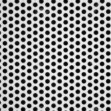 Runder Loch-Muster-Metalldekorativer Edelstahl-perforierte Blätter