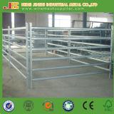 Panel galvanizado de la cerca del ganado de la pipa, panel de la cerca del ganado del tubo del metal