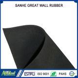 Лист Anti-Slip ткани законченный резиновый, ткань маркирует резиновый полового коврик